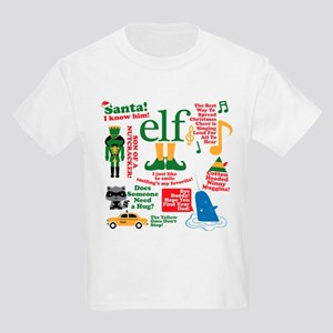 180843cd Elf: The Movie Kids T-Shirts - CafePress
