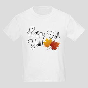 50b5c57b Happy Fall Y'all Cute Funny Thanksgiving A T-Shirt