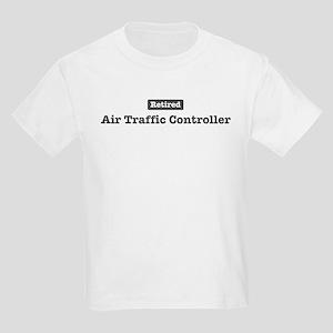 Retired Air Traffic Controlle Kids Light T-Shirt