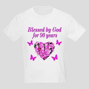 CHRISTIAN 90 YR OLD Kids Light T-Shirt