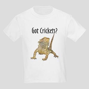 Bearded Dragon Got Crickets Kids T-Shirt