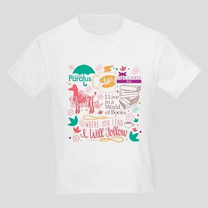 Gilmore Girls Collage Kids Light T-Shirt