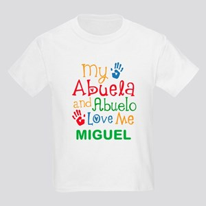 My Abuela And Abuelo Love Me Personalized T-Shirt