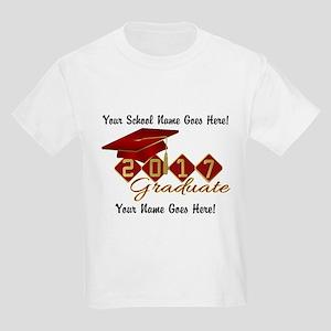 Graduate Red 2017 Kids Light T-Shirt
