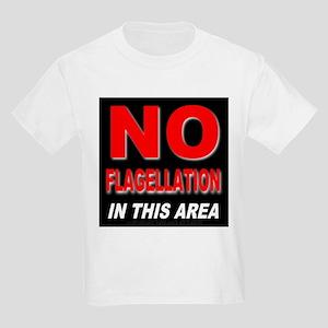 No Flagellation Kids T-Shirt