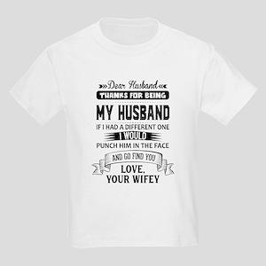 Dear Husband, Love, Your Favorite T-Shirt