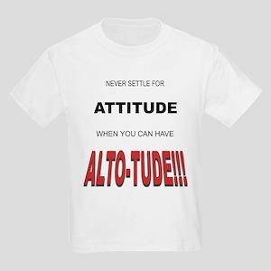 Alto-tude!!! Kids T-Shirt