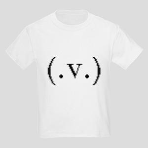 Breasts Via Text Art  Kids T-Shirt