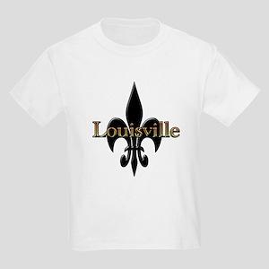 Louisville Fleur de Lis Kids T-Shirt
