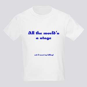 World's a Stage Kids T-Shirt