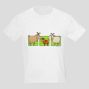 3 goats Kids T-Shirt