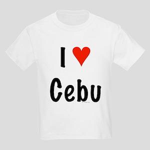 I love Cebu Kids T-Shirt