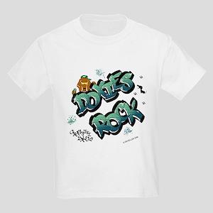 Doxies Rock Graffiti Kids Light T-Shirt