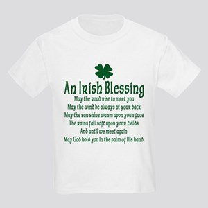 Irish Blessing Kids Light T-Shirt