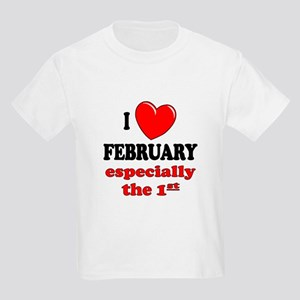 February 1st Kids Light T-Shirt