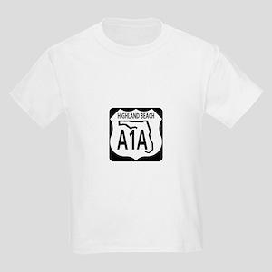 A1A Highland Beach Kids Light T-Shirt