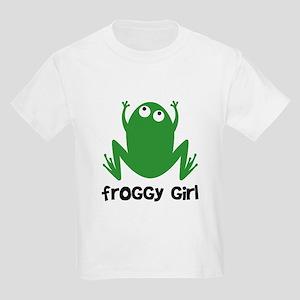 Froggy Girl Kids Light T-Shirt