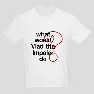 Vlad the Impaler Kids Light T-Shirt