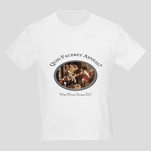 What Would Aeneas Do? Kids Light T-Shirt