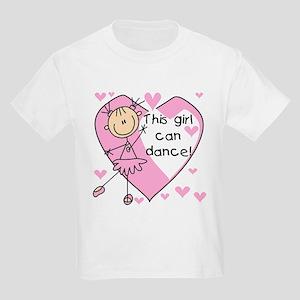 This Girl Can Dance Kids Light T-Shirt