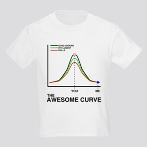 The Awesome Curve Kids Light T-Shirt