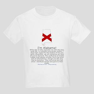 Alabama Kids Light T-Shirt