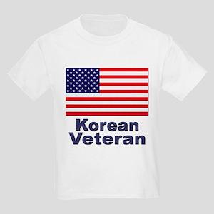 Korean Veteran (Front) Kids Light T-Shirt
