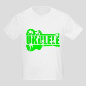 hawaiian ukulele uke palm tree design T-Shirt