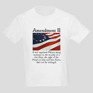 2nd Amendment Kids Light T-Shirt