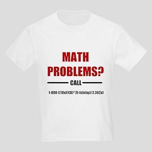 Math Problems Kids Light T-Shirt
