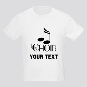 Personalized Choir Musical Kids Light T-Shirt
