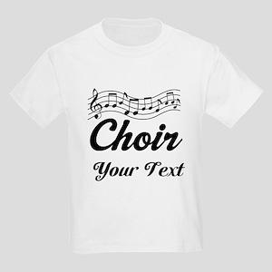 Custom Choir Musical Kids Light T-Shirt