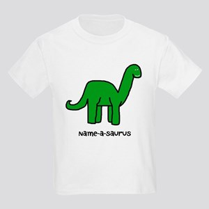 Name your own Brachiosaurus! Kids Light T-Shirt
