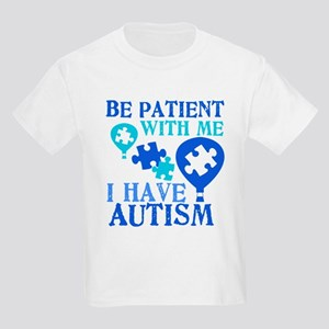 Be Patient Autism Kids Light T-Shirt