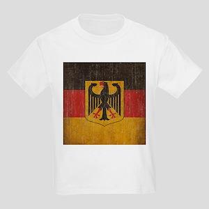 Vintage Germany Flag Kids Light T-Shirt