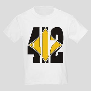 412 Black/Gold-W Kids Light T-Shirt