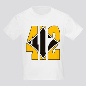 412 Gold/Black-W Kids Light T-Shirt
