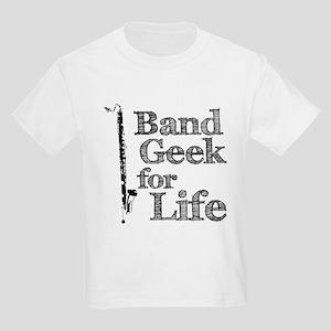 Bass Clarinet Band Geek Kids Light T-Shirt