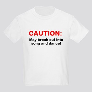 CAUTION: Kids Light T-Shirt