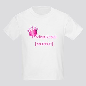 Personlized Princess Kids Light T-Shirt