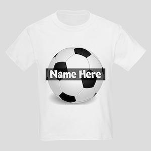 Personalized Soccer Ball Kids Light T-Shirt