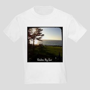 Front lawn at Esalen, Big Sur Kids Light T-Shirt