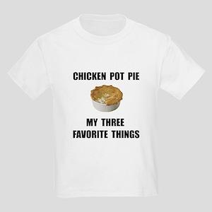 Chicken Pot Pie Kids Light T-Shirt