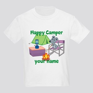 Custom Happy Camper Mouse T-Shirt