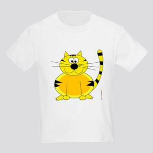 ORANGE FARM CAT Kids Light T-Shirt