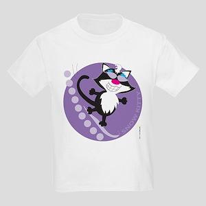SNOW KITTY Kids Light T-Shirt