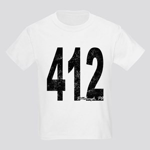 Distressed Pittsburgh 412 T-Shirt