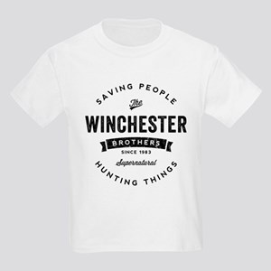 SUPERNATURAL Winchester Bros bl Kids Light T-Shirt