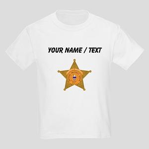 Deputy Sheriff Badge (Custom) T-Shirt