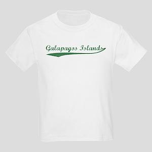 Vintage Galapagos Islands (Gr Kids T-Shirt